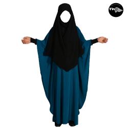 abaya-enfant-bleu-canard-mouhajiroun-tijara.shop