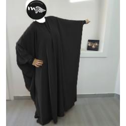 abaya-mastoura-noir-mouhajiroun (1)-tijara.shop