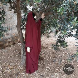 jilbab-2-pcs-mariem-bordeaux-mouhajiroun (1)-tijara.shop