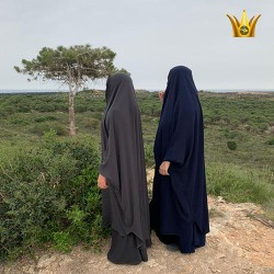 jilbab-2-pieces-royal-gris nouveaux-tijara.shop