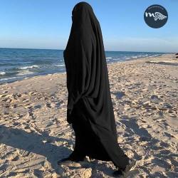 jilbab-sarouel noir-tijara.shop