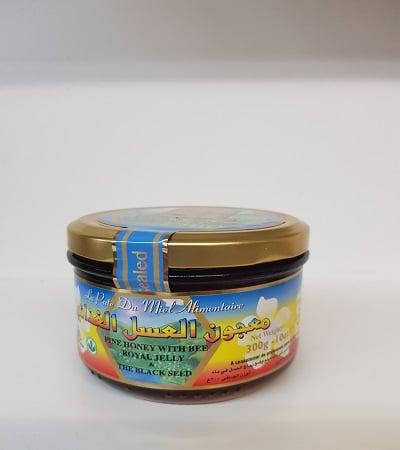 miel a la gelee royal et a la graine noir-tijara.shop