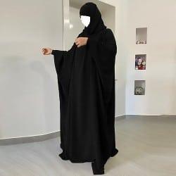 jilbab-1-piece-nafissa noir-tijara.shop