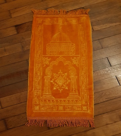 mini tapis de priere orange-tijara.shop