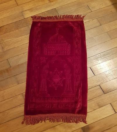mini tapis de priere rouge-tijara.shop