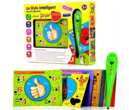 le-stylo-intelligent-joue-et-apprend-avec-plus-de-100-cartes-illustrees-bilingues-francais-arabe-collectif-orientica-tijara.shop