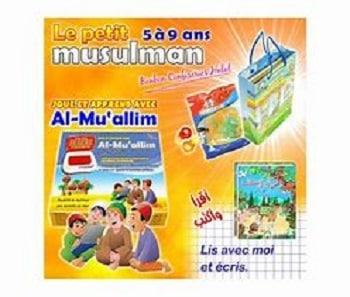 pack cadeau le petit musulmans de 5-9 ans-tijara.shop